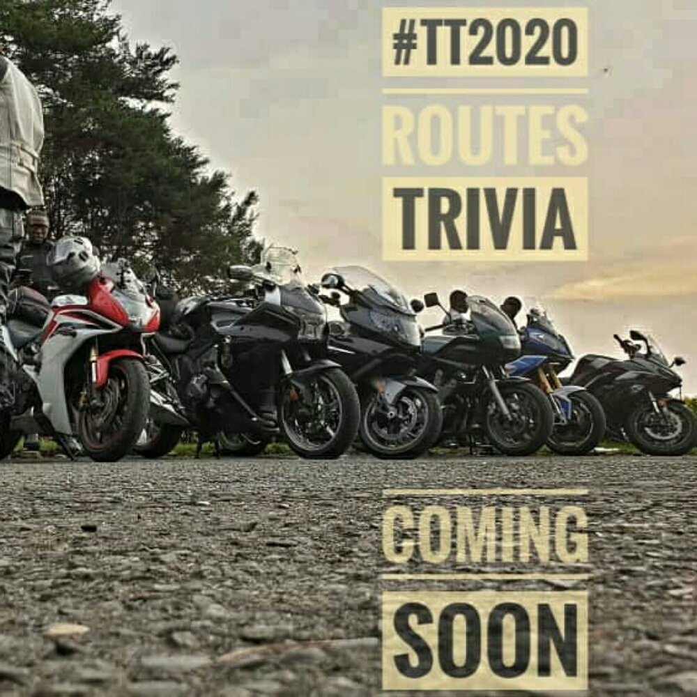 We are releasing the #TT2020 routes soon.. with a guess and win trivia on IG...