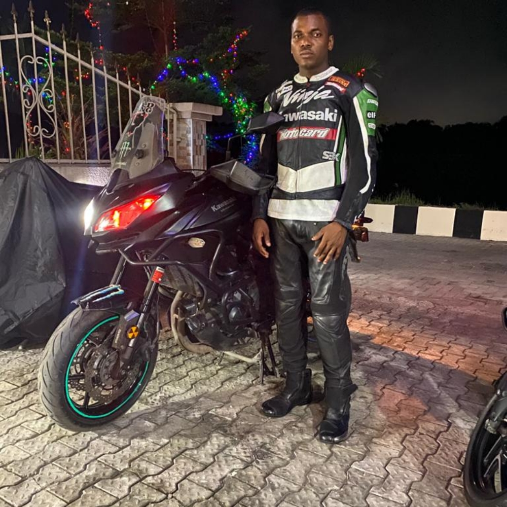 Rode from lagos to Anambra and back same day