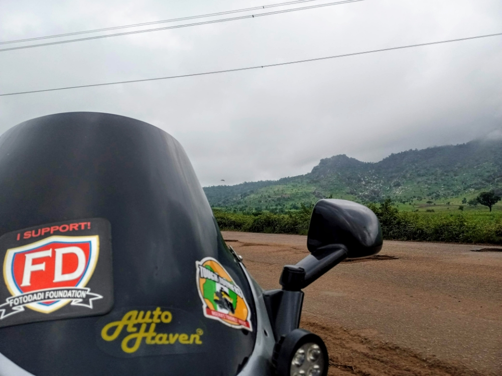 I brief stop to take a picture and enjoy yhe view of the Jos Plateau.