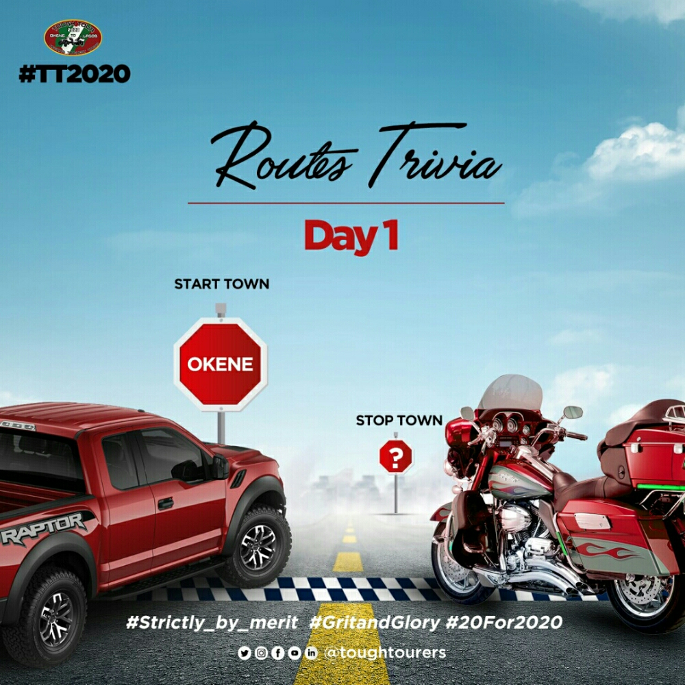 where do you think is the next stop town on the #TT2020 route #Routestrivia...