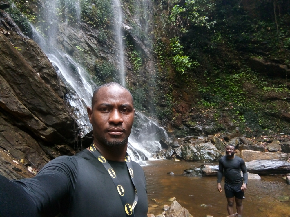 At olumirin waterfalls