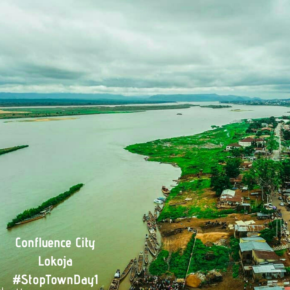 #TT2020.. StopTown Day 1.  Lokoja, Kogi State.. (The via point makes all the difference).
